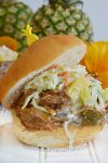 Slow Cooker Island Shredded Pork Sandwich Recipe