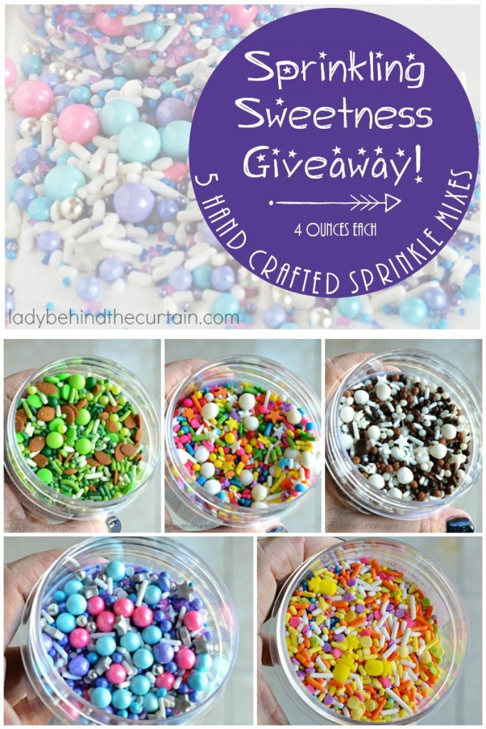Sprinkling Sweetness Giveaway