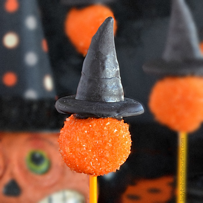 Bewitching Halloween Party Marshmallow Pops