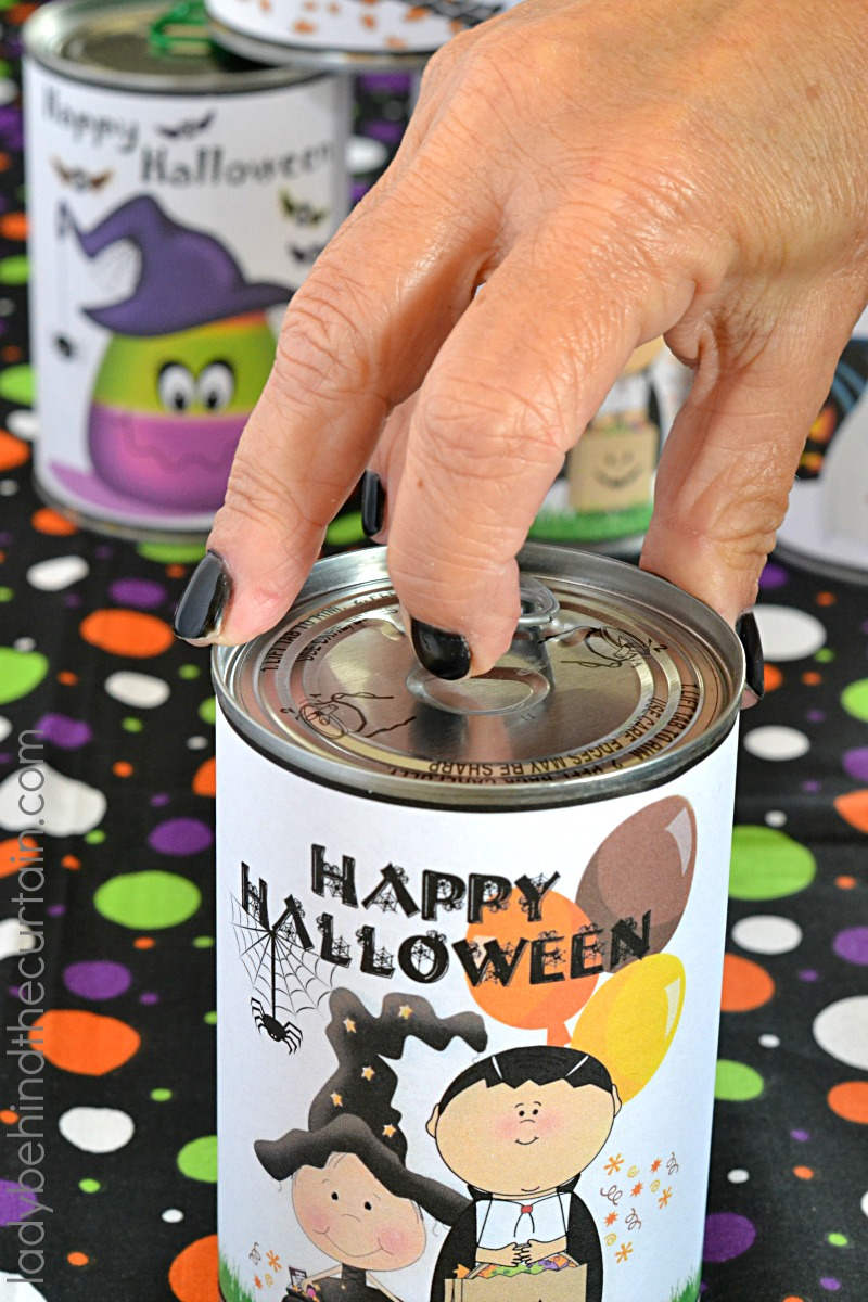 Dollar Tree Classroom Halloween Party In A Can