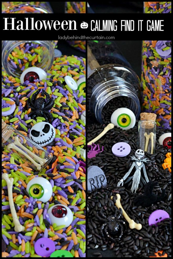 How to Make a Halloween Calming Find It Game