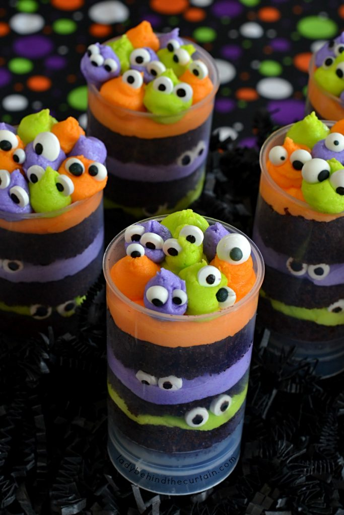 Monster Party Halloween Party Cupcakes