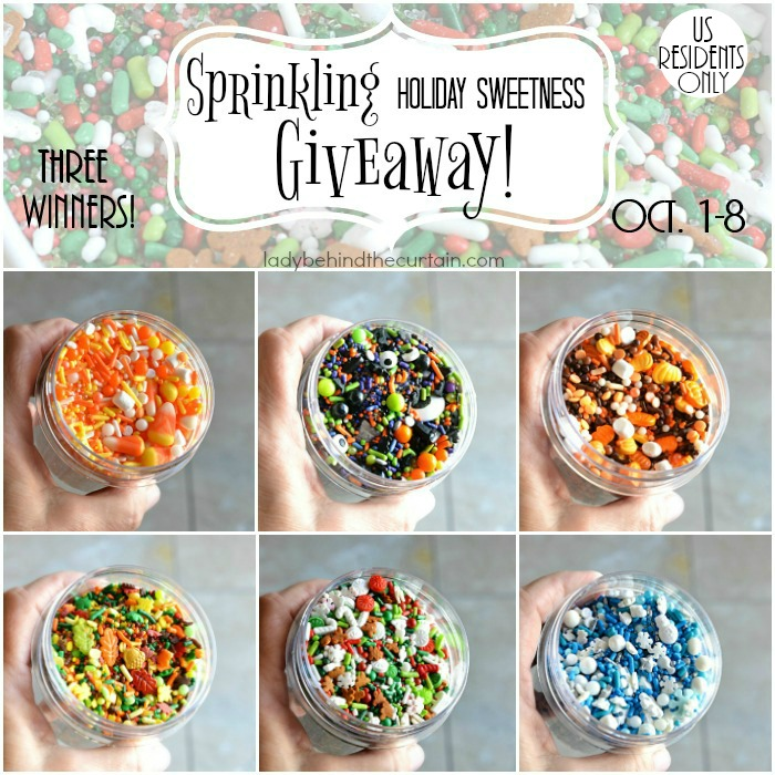 Sprinkling Holiday Sweetness Giveaway