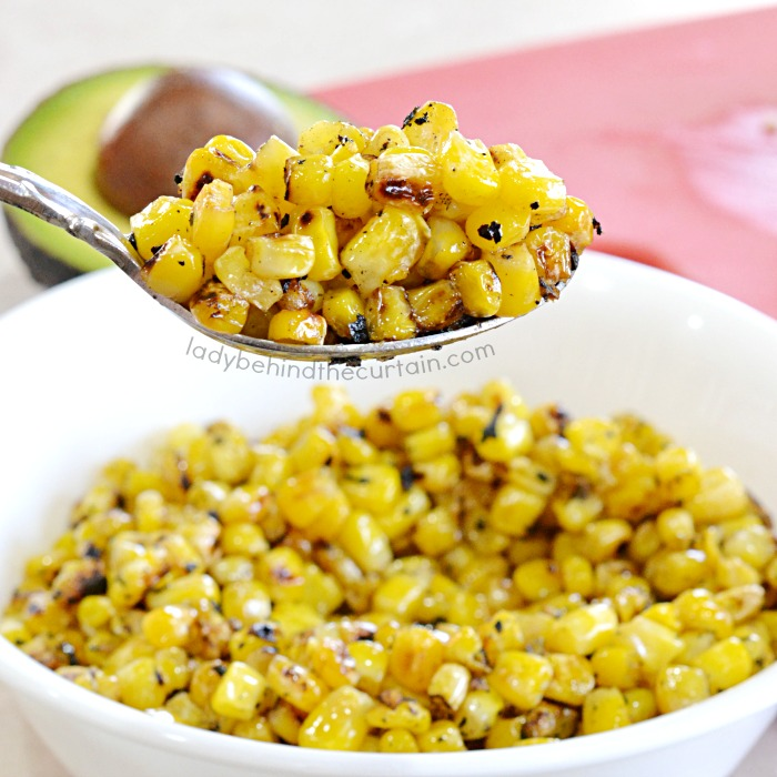 Stove Top Pan Roasted Corn