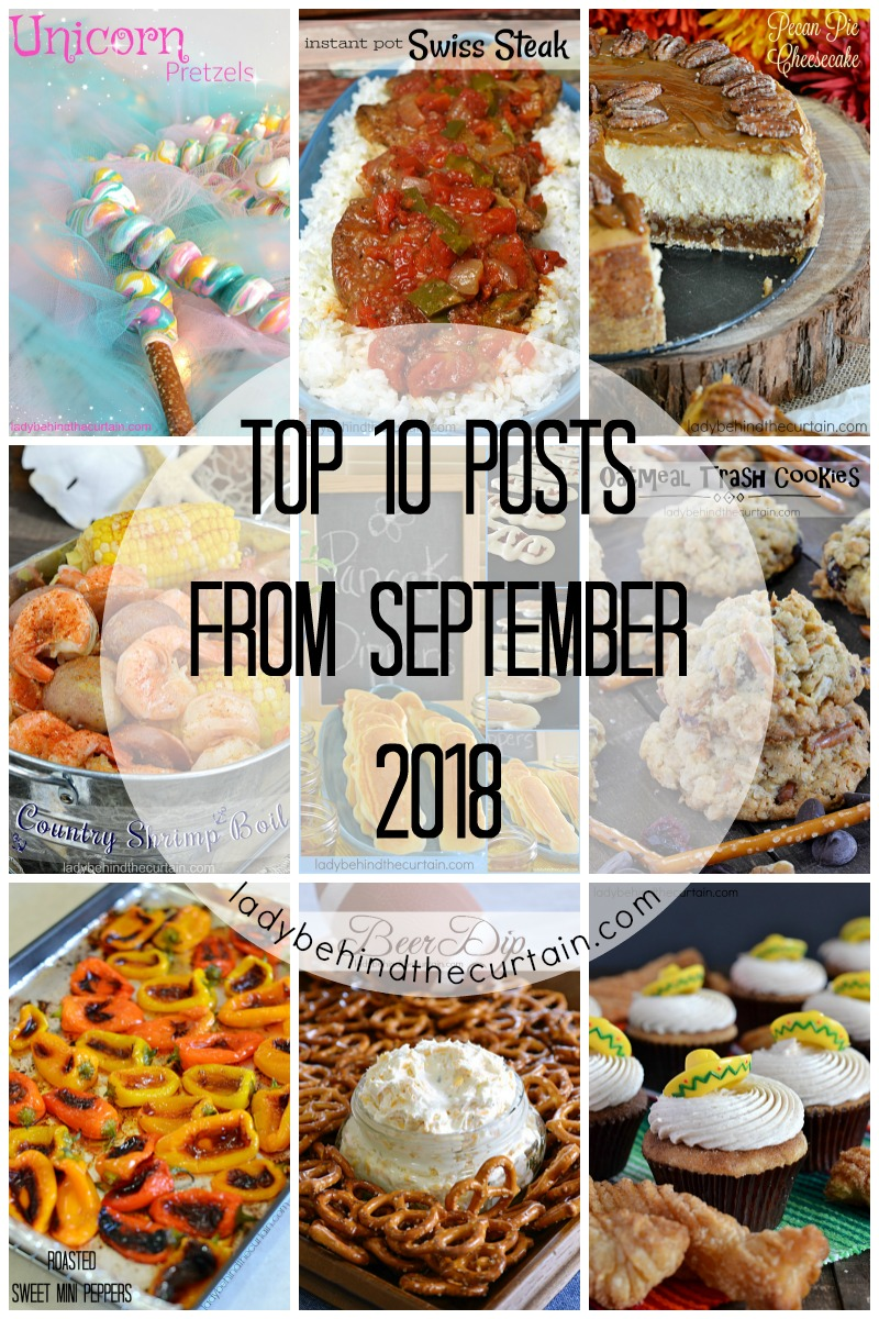 Top 10 Posts From September 2018