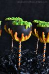Witches Cauldron Cake Pops