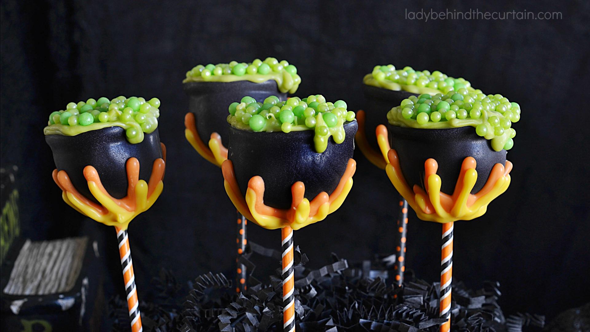 Harry Potter Cauldron Cake Pop