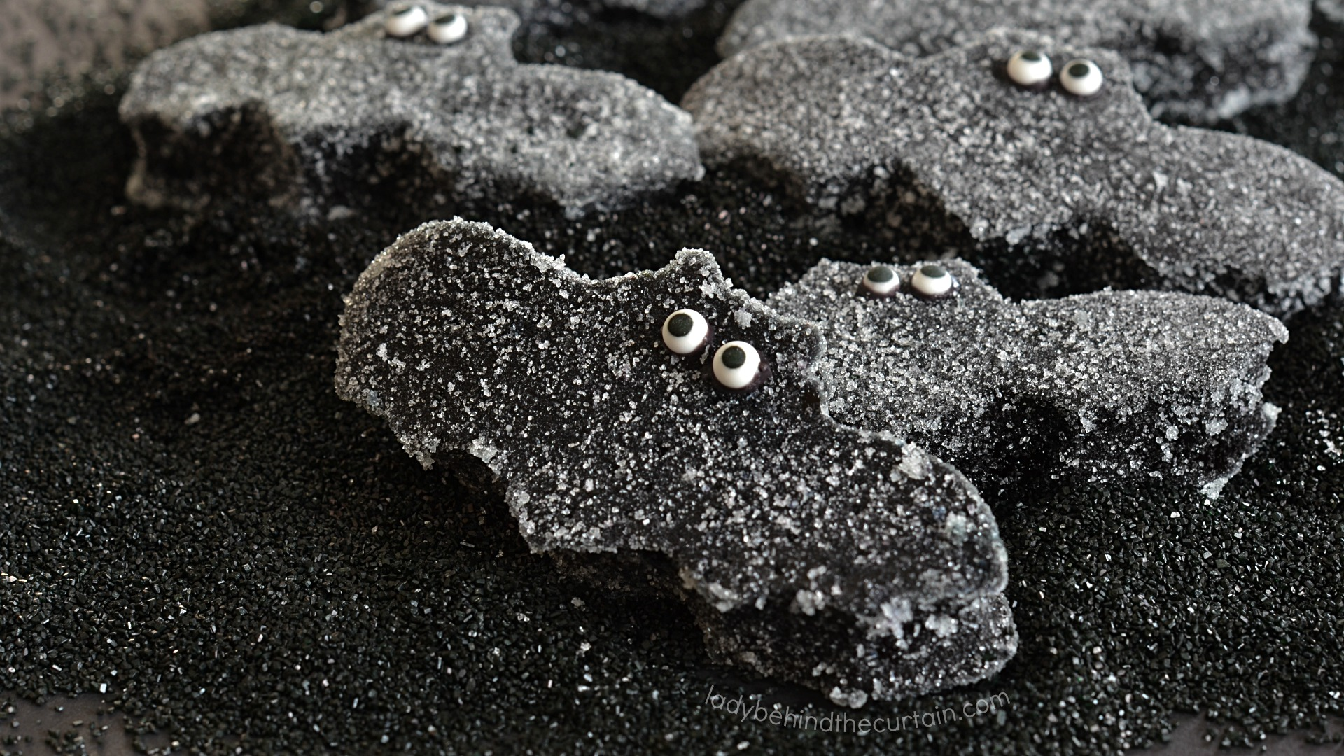 Easy to Make Halloween Bat Gumdrops