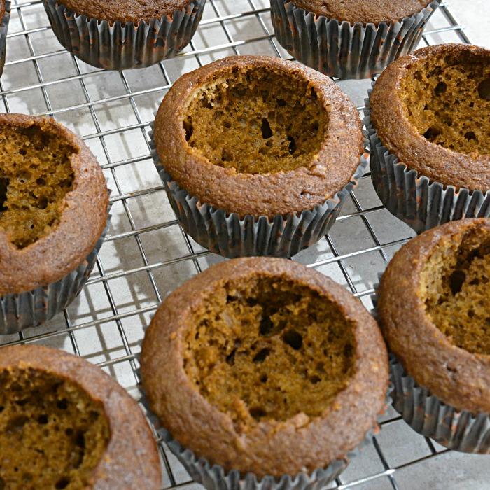 Semi Homemade Slime Pit Halloween Cupcakes