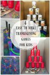 4 Easy to Make Thanksgiving Games for Kids