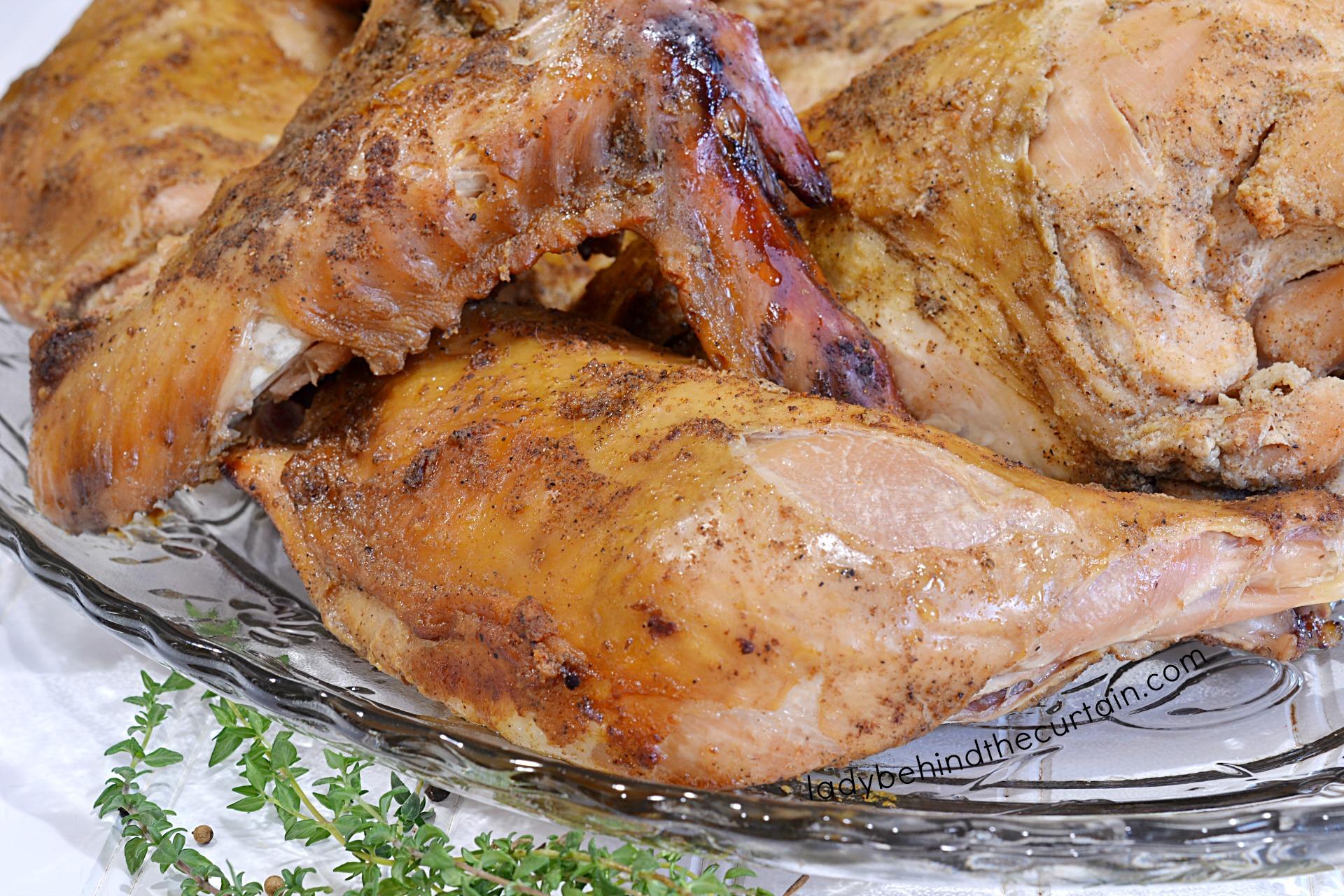 How to Smoke a Turkey Two Ways