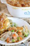 Semi Homemade Chicken Pot Pie