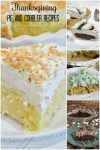 Thanksgiving Pie and Cobbler Recipes