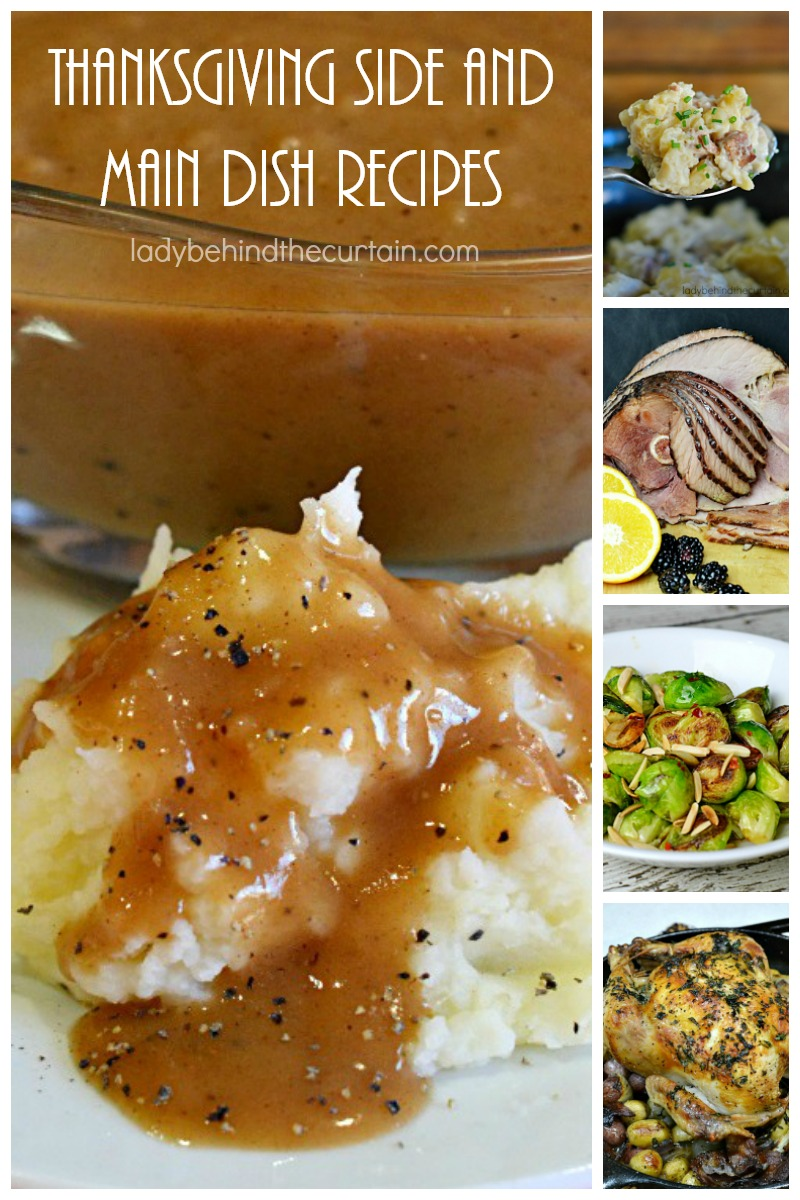 Thanksgiving Side and Main Dish Recipes