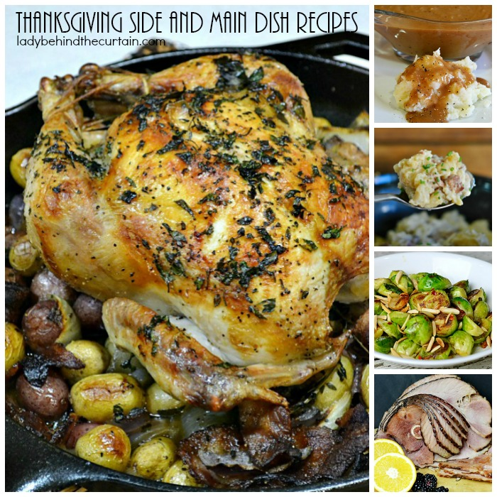 35 Thanksgiving Recipes for Main Dishes & Sides | HGTV |Thanksgiving Main Dishes