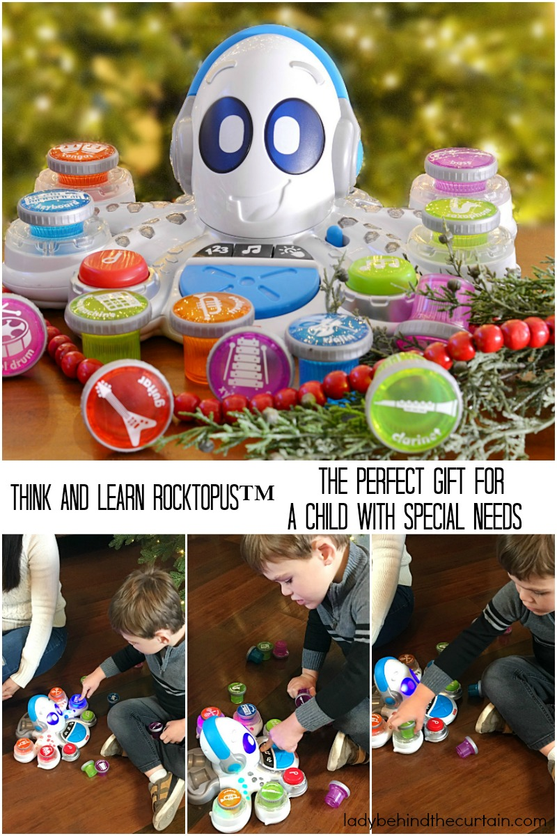 Think and Learn Rocktopus The Perfect Gift for a Child with Special Needs