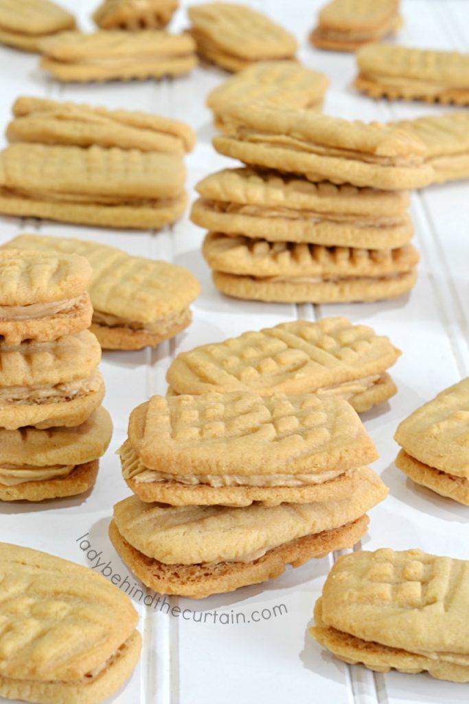 Copy Cat Peanut Butter Sandwich Cookies