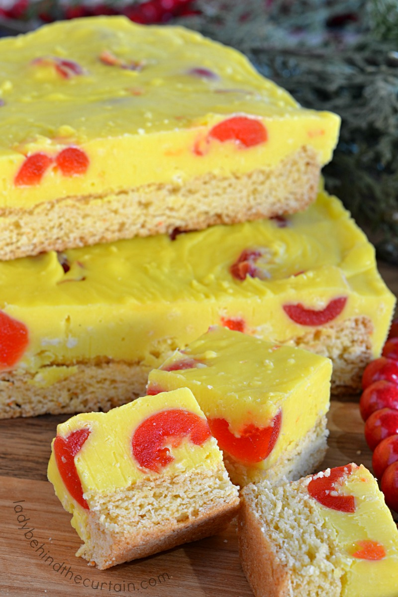 Pineapple Upside Down Cake Fudge