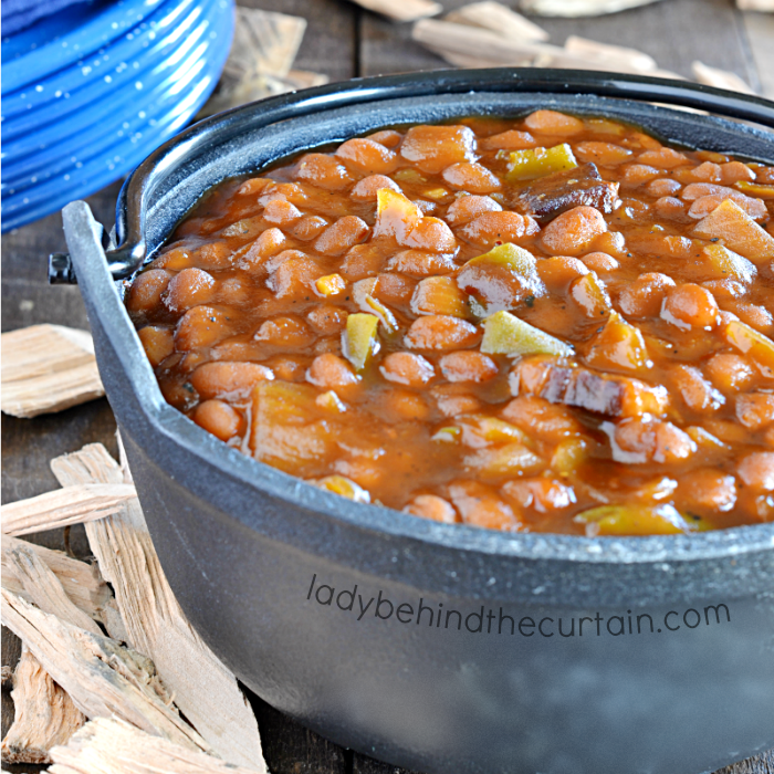 Semi Homemade Smoked Baked Beans