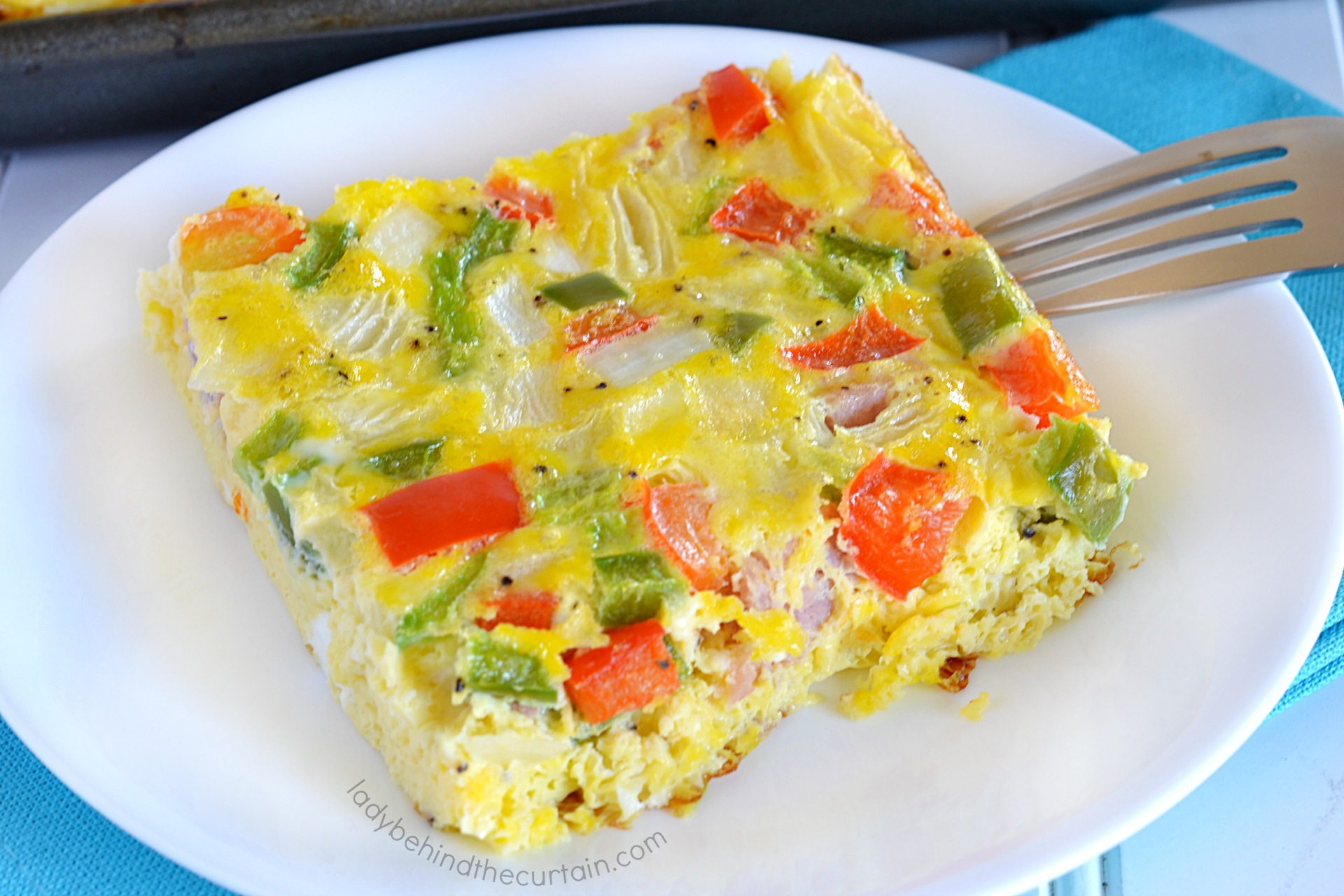 Easy Sheet Pan Baked Denver Omelet