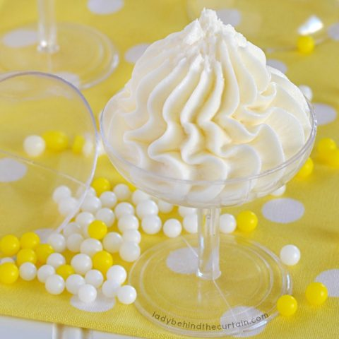 Champagne Butter Frosting