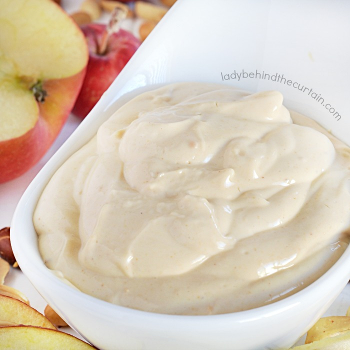 Low Calorie Peanut Butter Fruit Dip