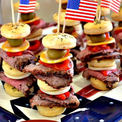 Steak Sandwich Stackers