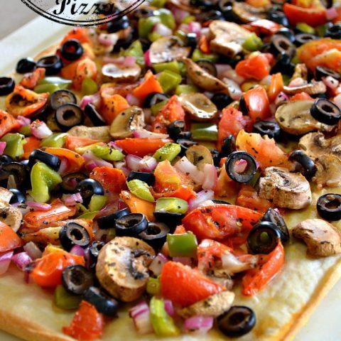 Light Vegetable Pizza