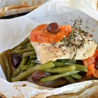 Baked Chicken in Parchment Paper