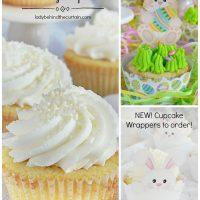 Classic White Cake Wedding Cupcakes
