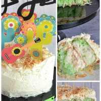 Semi Homemade Coconut Lime Fiesta Cake