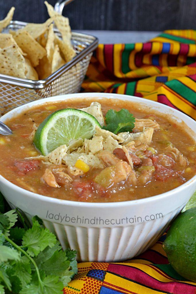 Semi Homemade Pantry Tortilla Soup