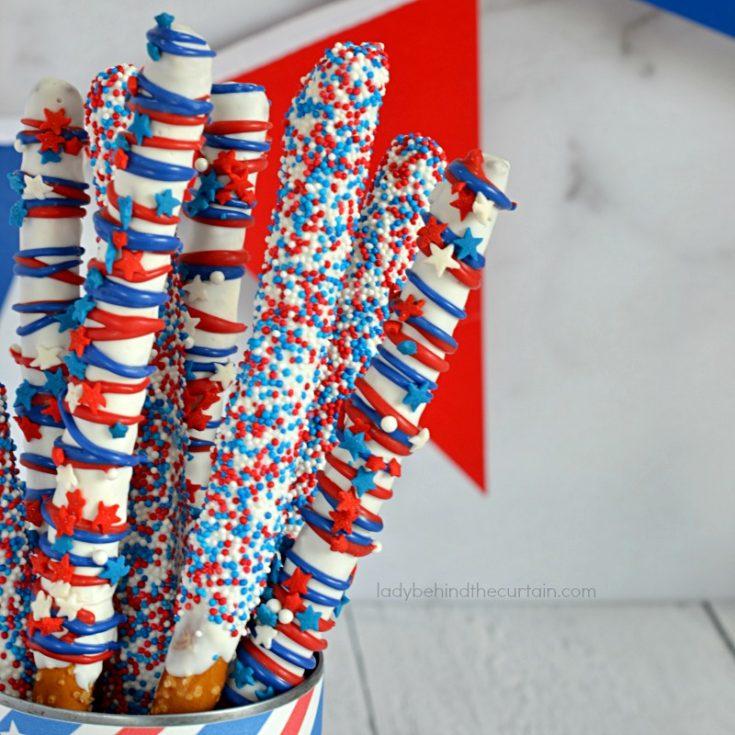 Patriotic Celebration Pretzels