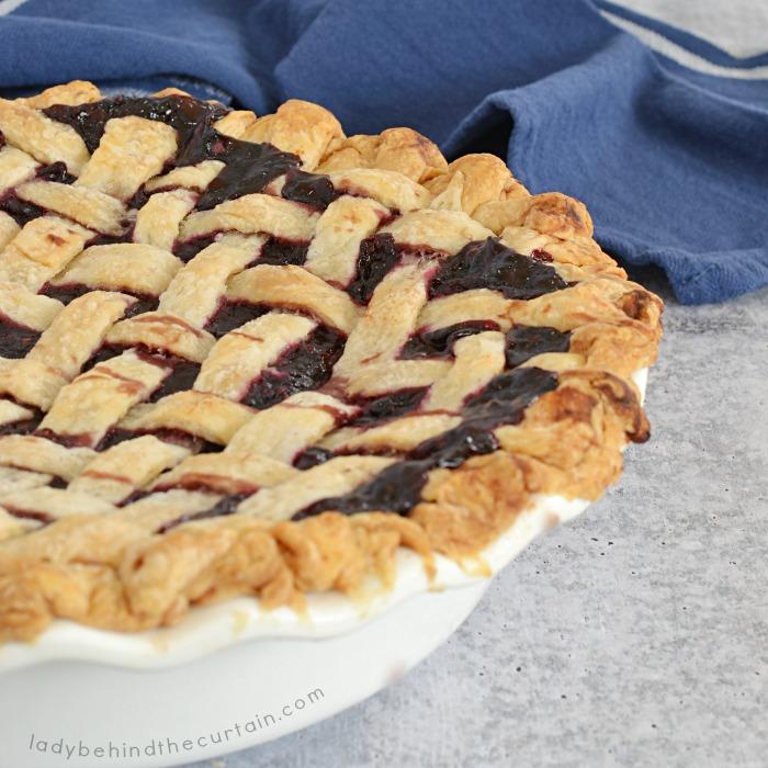 Easy Razzleberry Pie