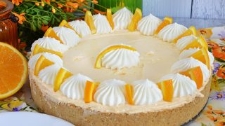 Orange Icebox Pie