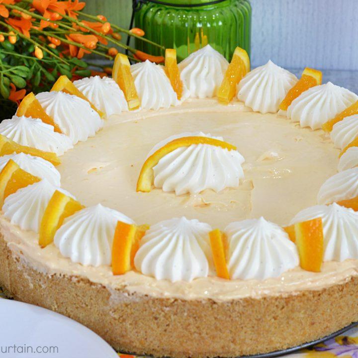 Orange Icebox Pie
