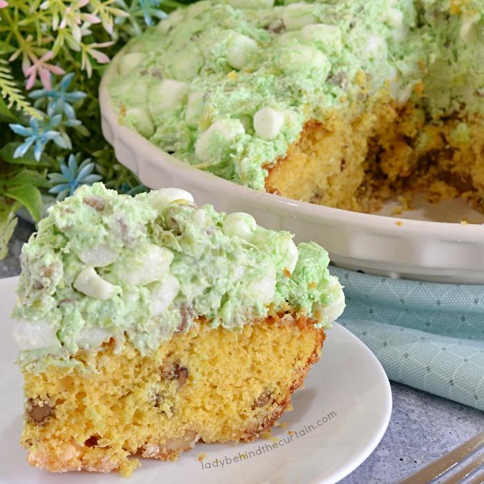 Pistachio Salad Mousse Pie