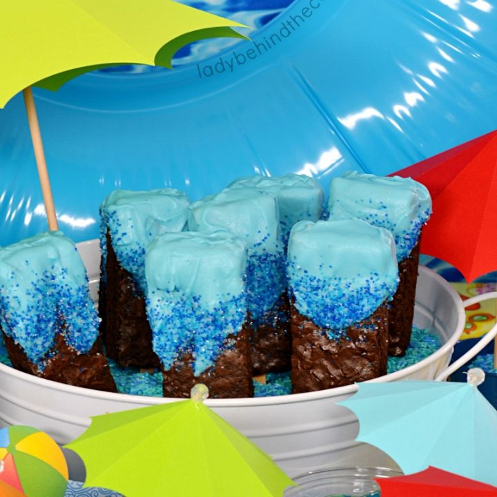 Kick board Brownie Pops