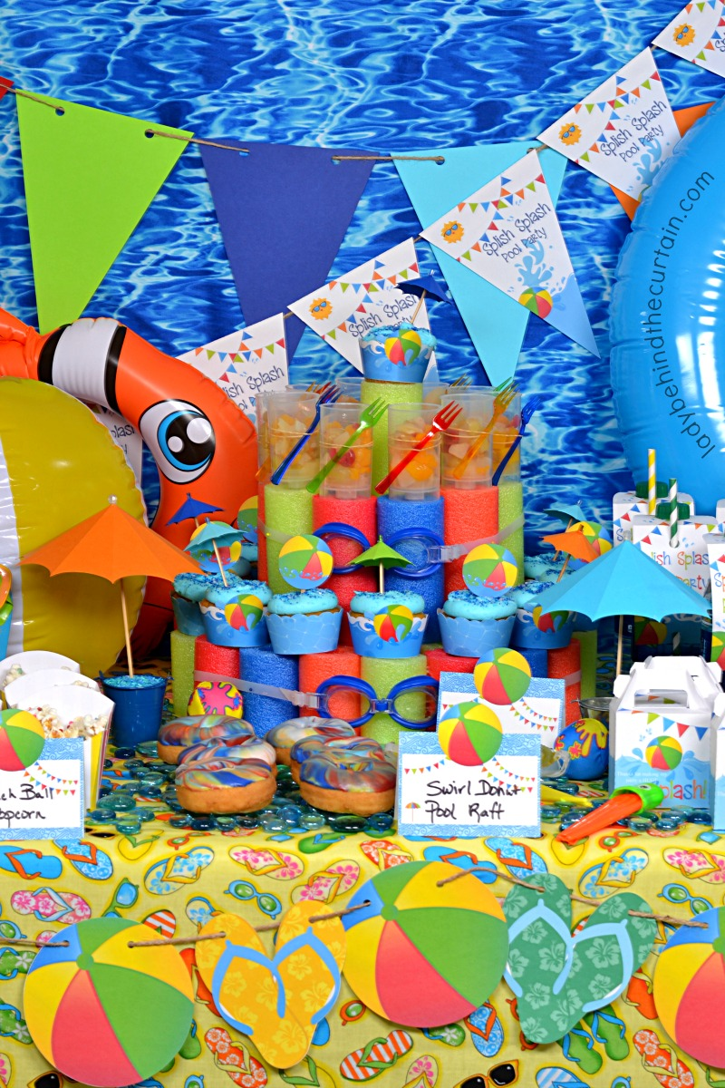 Pool Party Ideas Food