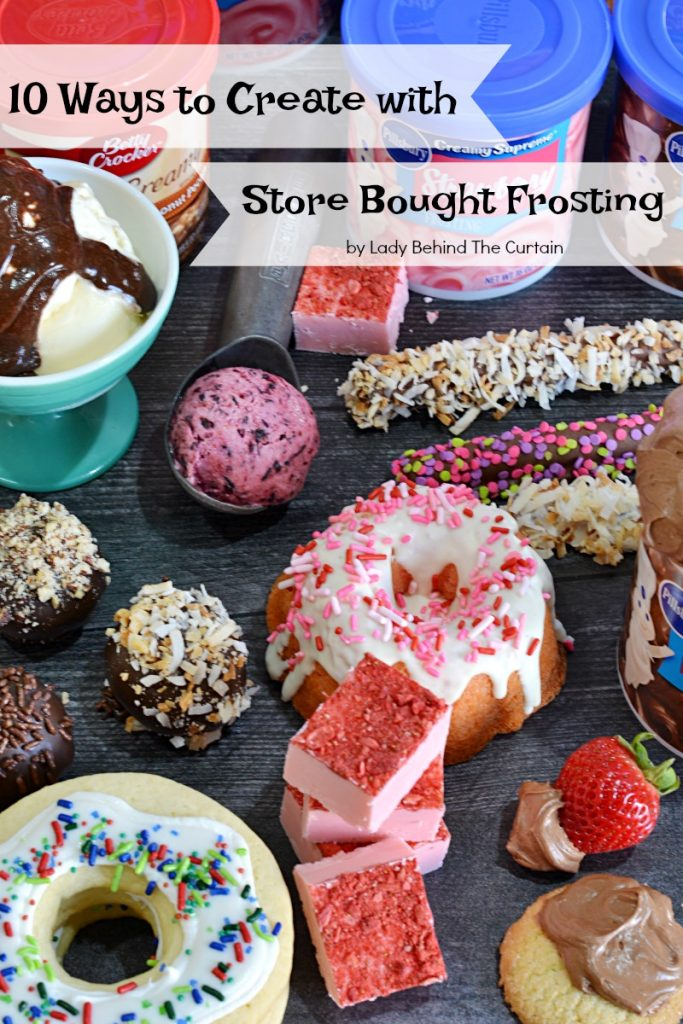 10 Ways to Create with Store Bought Frosting