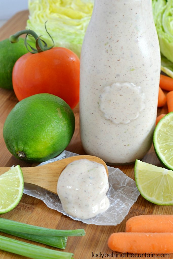 Light Chili Lime Ranch Dressing