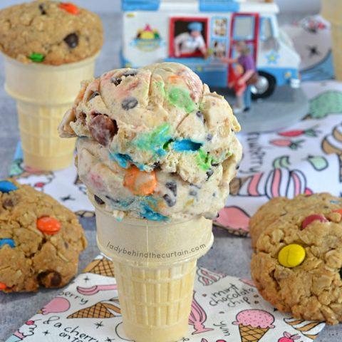 Monster Cookie Ice Cream