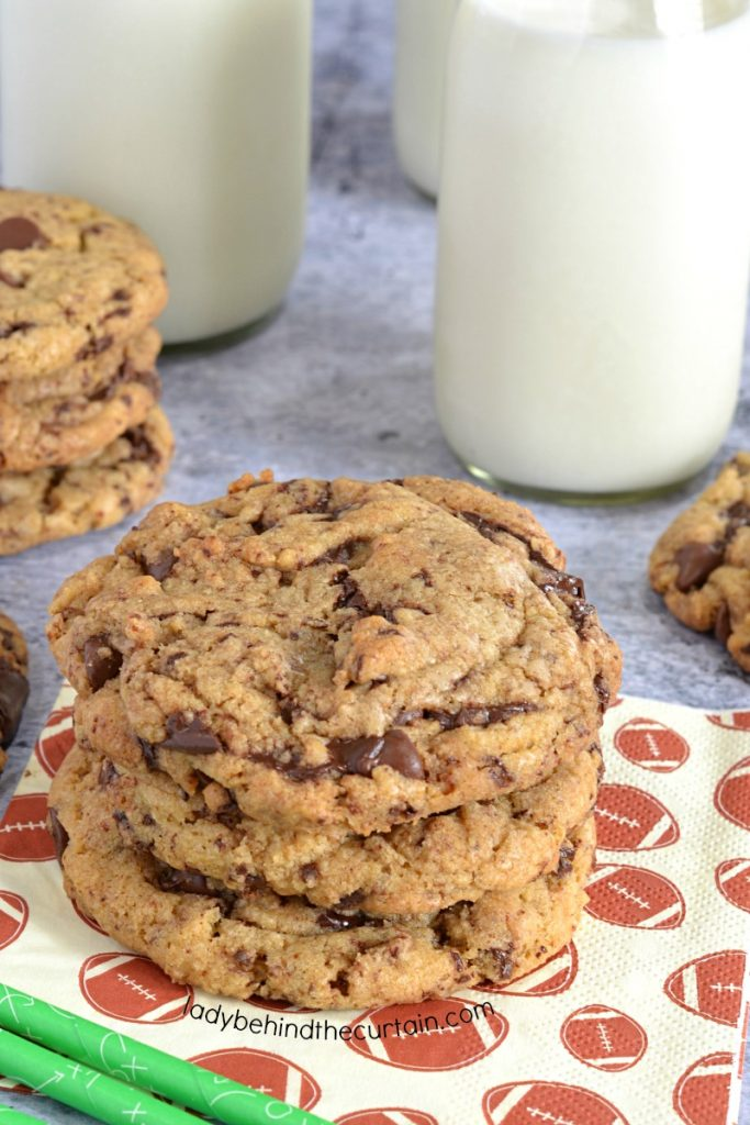 Outrageous Brown Butter Chocolate Chip Cookies