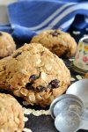 Peanut Butter Oatmeal Breakfast Cookies