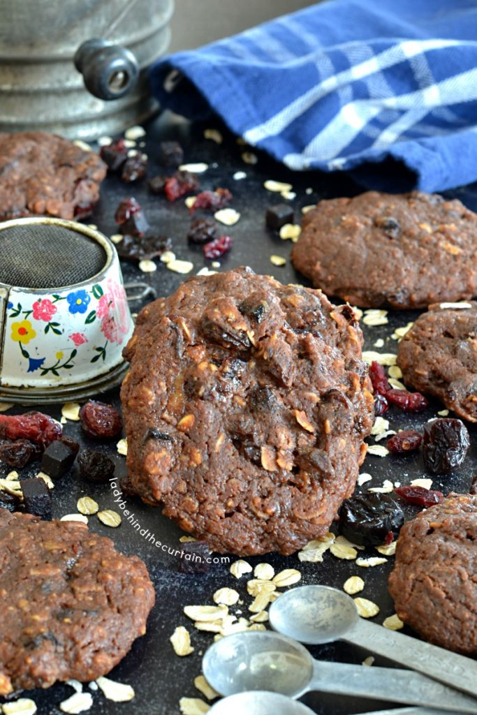 Grab and Go Chocolate Banana Breakfast Cookies