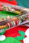 Mini Holiday Pretzel Stick Stocking Stuffer
