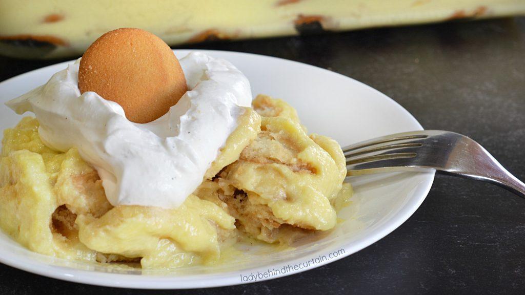 Old Fashioned Southern Banana Pudding Dessert