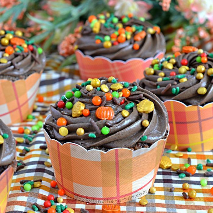 Pumpkin Churro Cupcakes