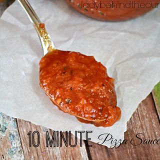 10 Minute Pizza Sauce