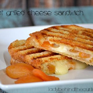 Apricot Grilled Cheese Sandwich